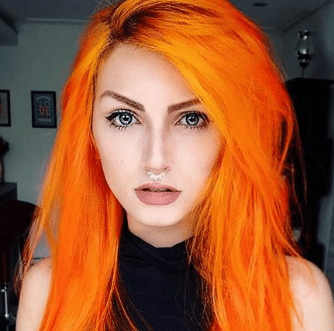 causes of orange hair
