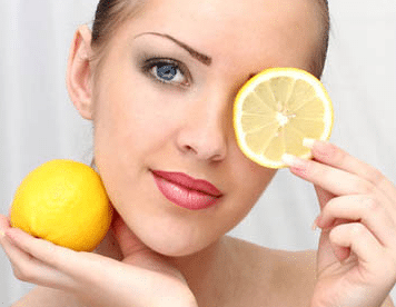 lemon juice for black spots